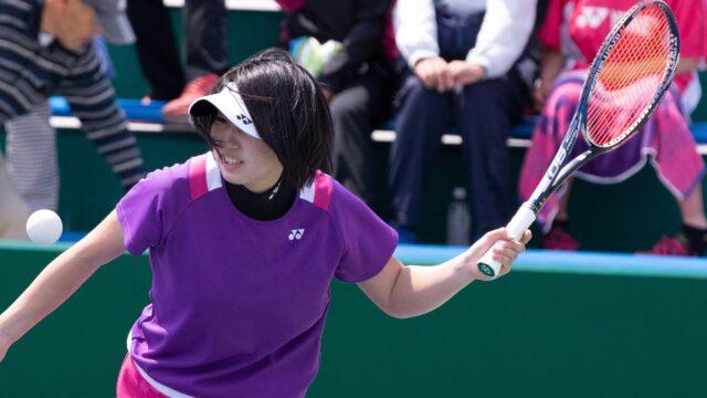 高橋選手の使用ソフトテニスラケット(2019年)