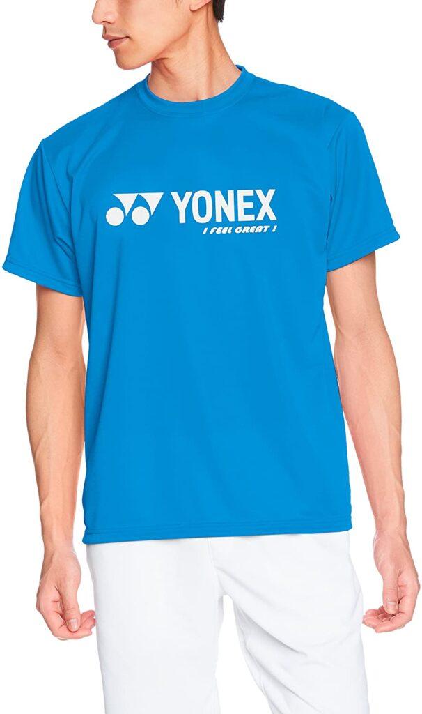 ヨネックスのTシャツの画像