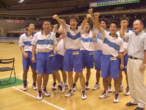 日体時代の篠原選手の画像